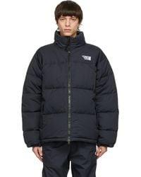 メンズ Vetements ブラック Limited Edition パファー ジャケット Black