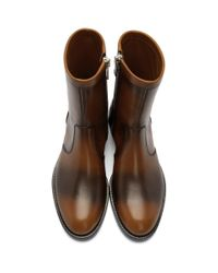 Bottes brunes Cruz Givenchy pour homme en coloris Brown