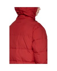 The Very Warm Red Anorak Puffer Jacket for men