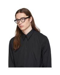 メンズ Dior Homme ブラック Diorfraction03 グラス Black