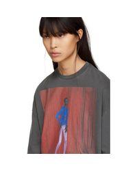 Balenciaga - Black Alek Model T-shirt - Lyst