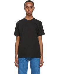 メンズ Comme des Garçons ブラック Forever T シャツ Black