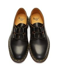Dr. Martens Black Ghillie Derbys for men