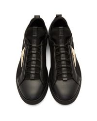 Baskets noires et dorees Bag Bugs Fendi pour homme en coloris Black