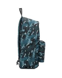 Maison Kitsuné Eastpak Edition ブルー カモフラージュ Out Of Office バックパック Blue