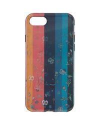 Paul Smith - Black Multicolor Artist Stripe Lenticular Iphone 7 Case - Lyst