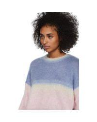 Pull multicolore Drussell Étoile Isabel Marant en coloris Blue