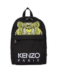 KENZO 限定エディション ブラック High Summer タイガー バックパック Black