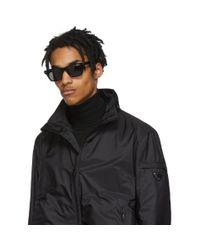 Cutler & Gross Black 1337-01 Sunglasses for men