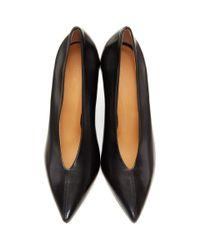 Isabel Marant Black Pandel Heels