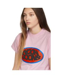 Noon Goons ピンク ロゴ Fish Eye T シャツ Pink