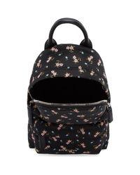 Givenchy Black Nano Hibiscus Backpack