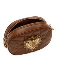 Dolce & Gabbana ブラウン Devotion バッグ Brown