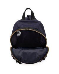 Marc Jacobs - Blue Navy Mini Biker Backpack - Lyst