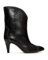 Isabel Marant ブラック Dythey ブーツ Black