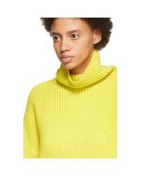 Givenchy イエロー オーバーサイズ タートルネック Yellow