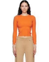 Extreme Cashmere オレンジ カシミア N°98 Kid セーター Orange