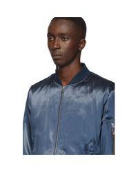 Blouson aviateur bleu B15 Manston Rag & Bone pour homme en coloris Blue