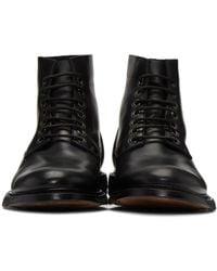 Rick Owens Black Chukka Slim Army Boots for men