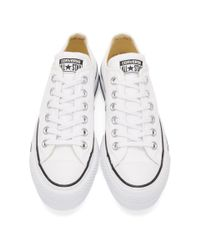 Converse - White Chuck Taylor All-star Lift Sneakers - Lyst