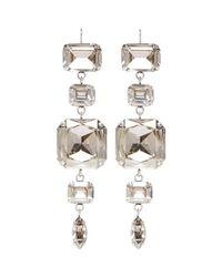 Isabel Marant Metallic Silver Blondie Earrings