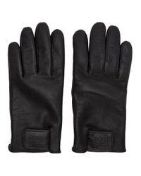 Gants noirs Heklop BOSS pour homme en coloris Black