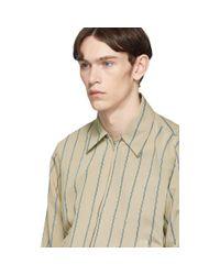 Blouson raye beige et bleu Fifty Shirt Hope pour homme en coloris Blue