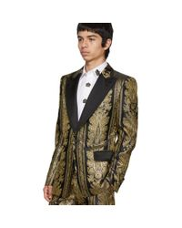 Chemise blanche Crown Dolce & Gabbana pour homme en coloris White