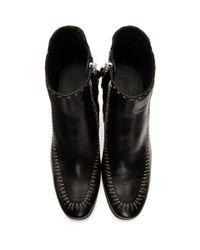 J.W. Anderson - Black Stitch Boots - Lyst