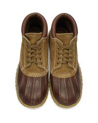 Visvim - Brown Decoy Duck Mid-folk Boots - Lyst