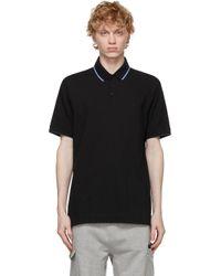 メンズ Z Zegna ブラック ポロシャツ Black