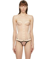 Agent Provocateur ピンク Mercy コルセット Natural