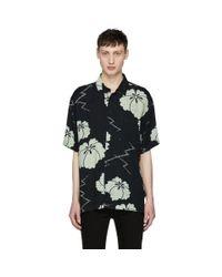 Levi's Blue Navy And Off-white Safari Shirt for men