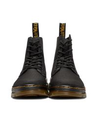 2687e890880 Dr. Martens Black Combs Lace-up Boots in Black for Men - Lyst