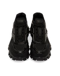 メンズ Prada ブラック クラウドバスト サンダー スニーカー Black