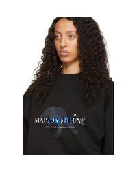 Maison Kitsuné Ader Error Edition ブラック フォックス ジャンプ スウェットシャツ Black