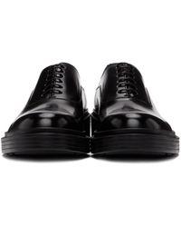 メンズ Giorgio Armani ブラック ビンテージ オックスフォード Black