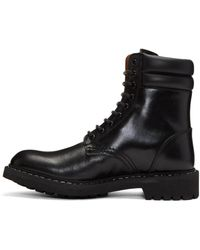 Givenchy   Black Tank Boots for Men   Lyst