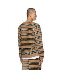 メンズ Burberry ベージュ Edson スウェットシャツ Natural