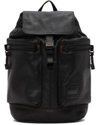 メンズ COACH ブラック Metropolitan ソフト バックパック Black