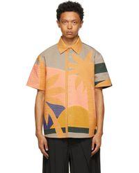 メンズ Craig Green マルチカラー Paradise シャツ Multicolor