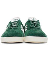 Adidas Originals - Multicolor Green Gazelle Sneakers - Lyst