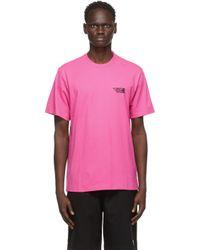 メンズ Vetements ピンク Limited Edition ロゴ T シャツ Pink