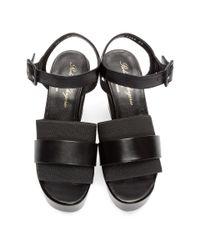 Clergerie Black Heeled Culturk Sandals