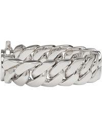 Tom Wood - Metallic Silver Slim Bracelet - Lyst