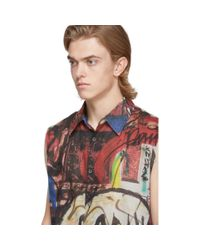 メンズ Our Legacy マルチカラー タグ Separee Company シャツ Multicolor