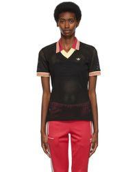 Wales Bonner Adidas エディション ブラック ポロシャツ Black