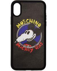 メンズ Moschino ブラック Chinese New Year Mickey Rat Iphone Xs/x ケース Black