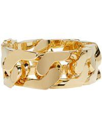 Ambush - Metallic Gold New Classic Chain 1 Bracelet - Lyst