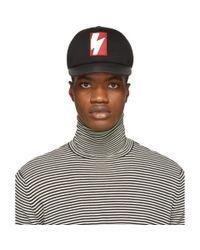 Neil Barrett Multicolor Black And Red Pop Art Cap for men